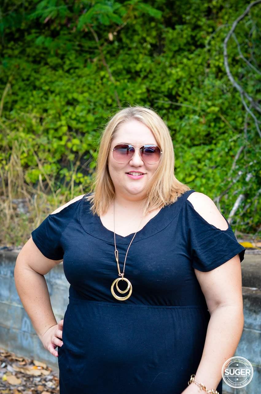17 sundays basic plus size little black dress-6