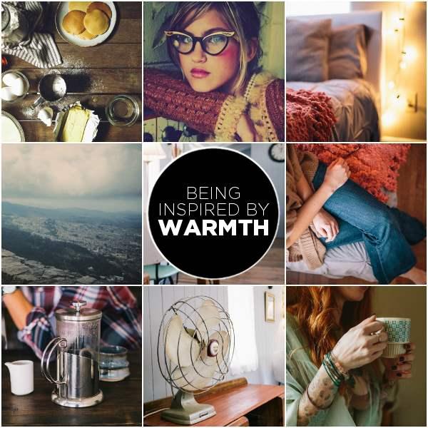 WARMTH mood board