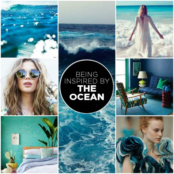 beachy blues mood board SUGER