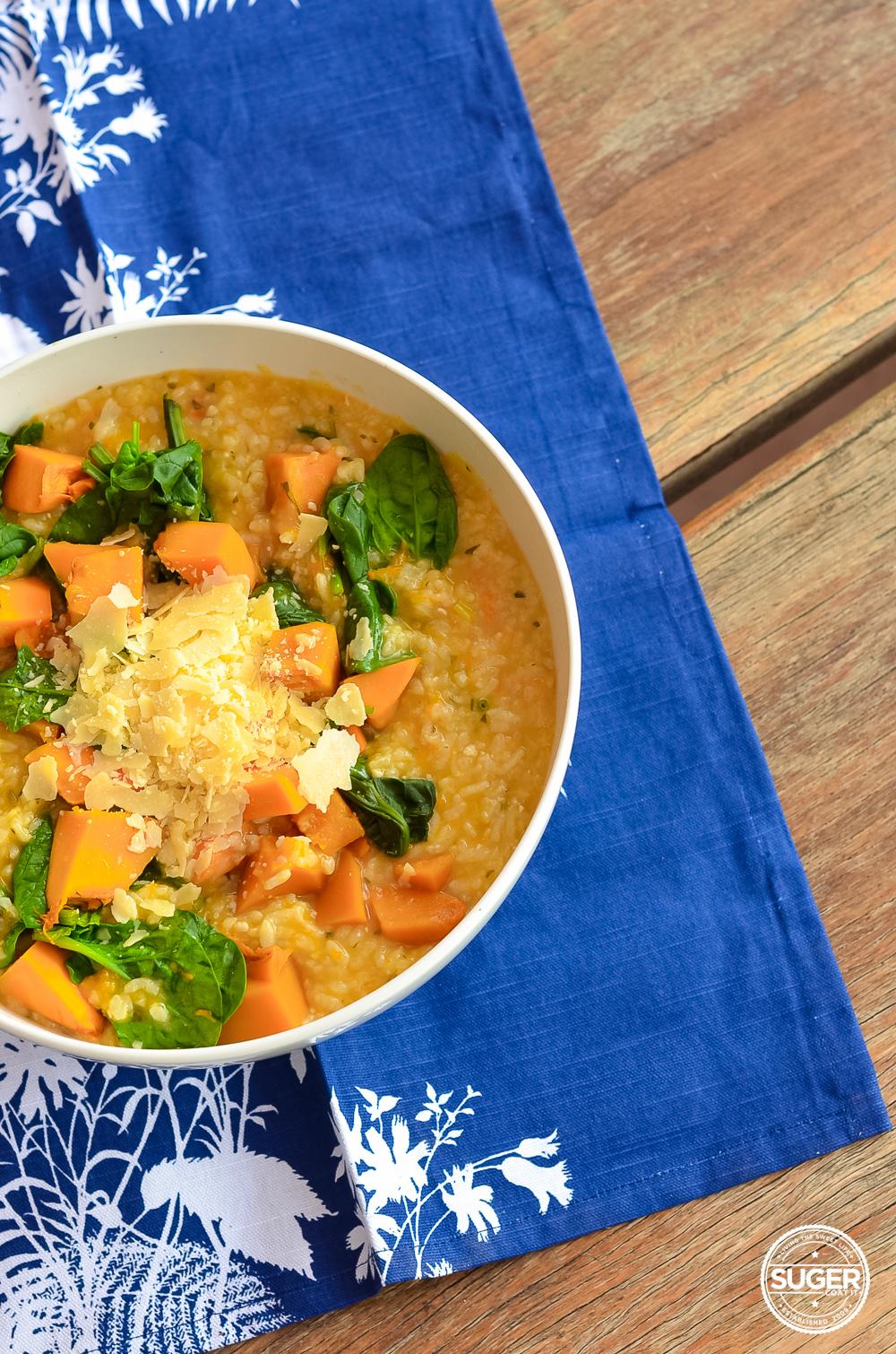 thermomix pumpkin and spinach risotto recipe-16