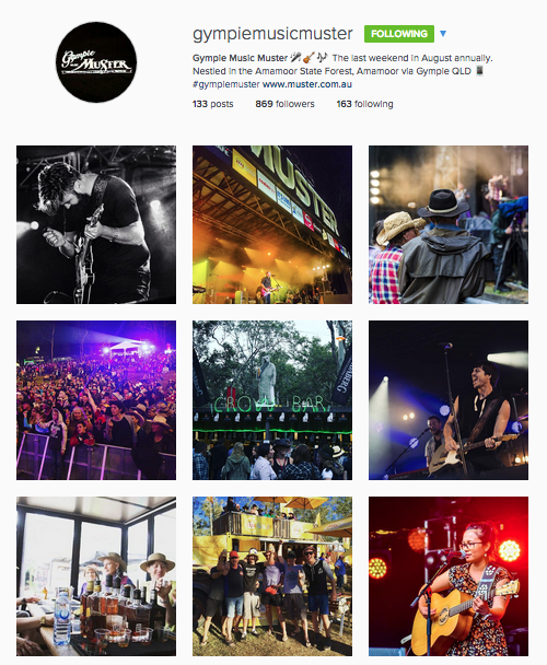 gympie music muster instagram