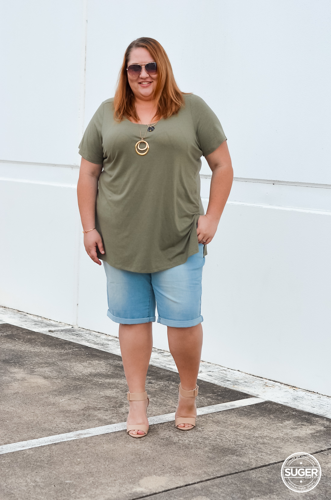 beme summer shorts australia plus size fashion blogger review