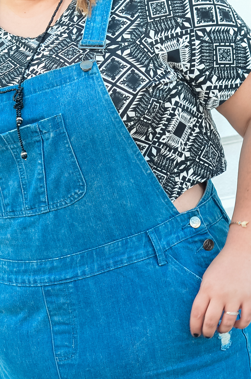 city chic skirt overalls summer plus size outfit-7