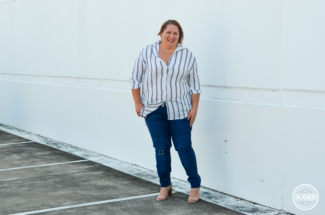 missguided plus size shirt dress over 17 sundays jeans-2