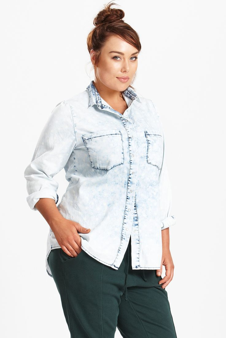 Win the 17 Sundays All Night Printed Denim Shirt & Joggers | Suger Coat It