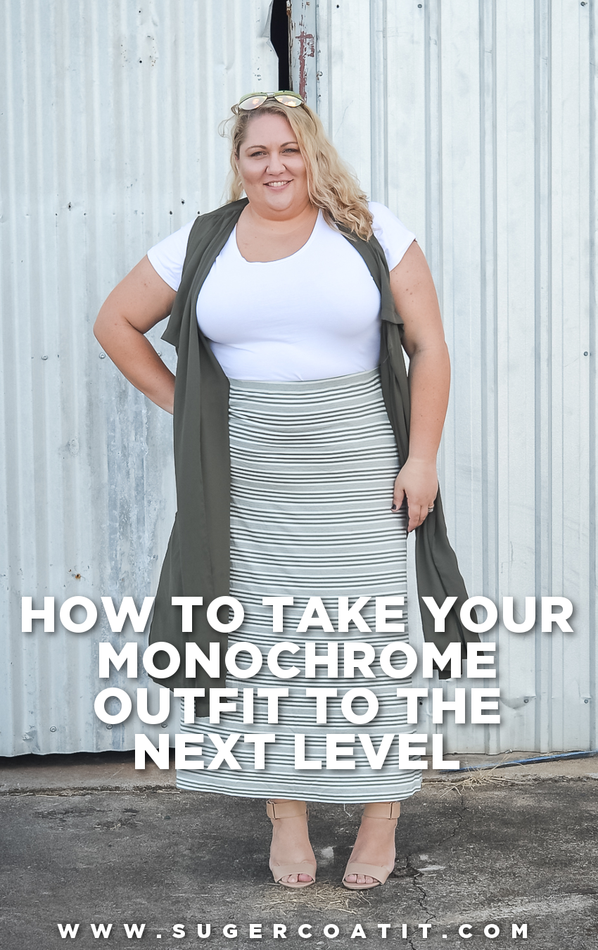 How to take your monochrome outfit to the next level | Suger Coat It | www.sugercoatit.com
