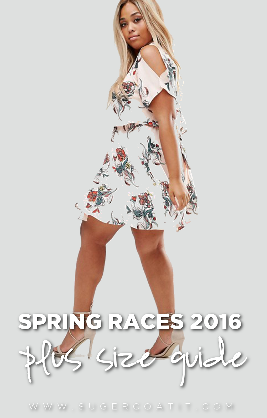 Spring Races Pus Size 2016 - Suger Coat It