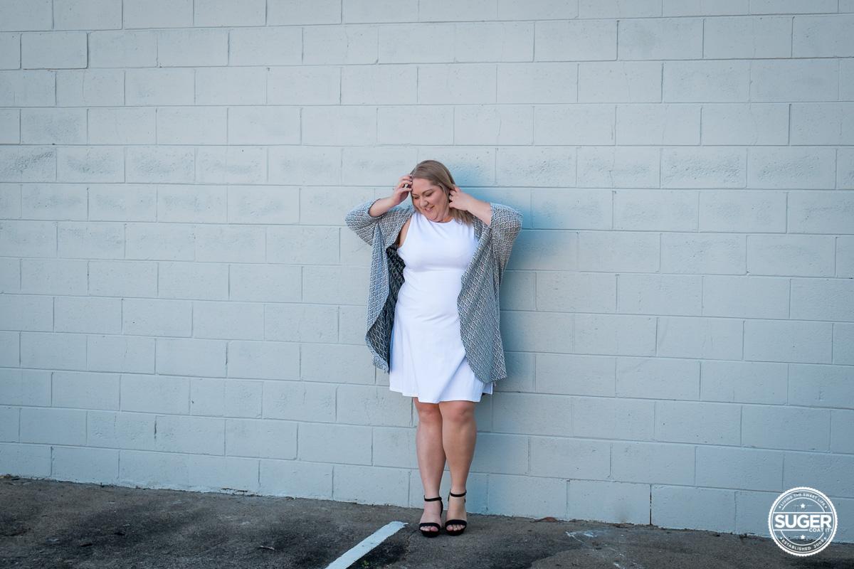 plus size blogger asos curve white dress-2