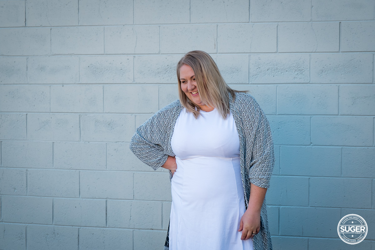 plus size blogger asos curve white dress-6