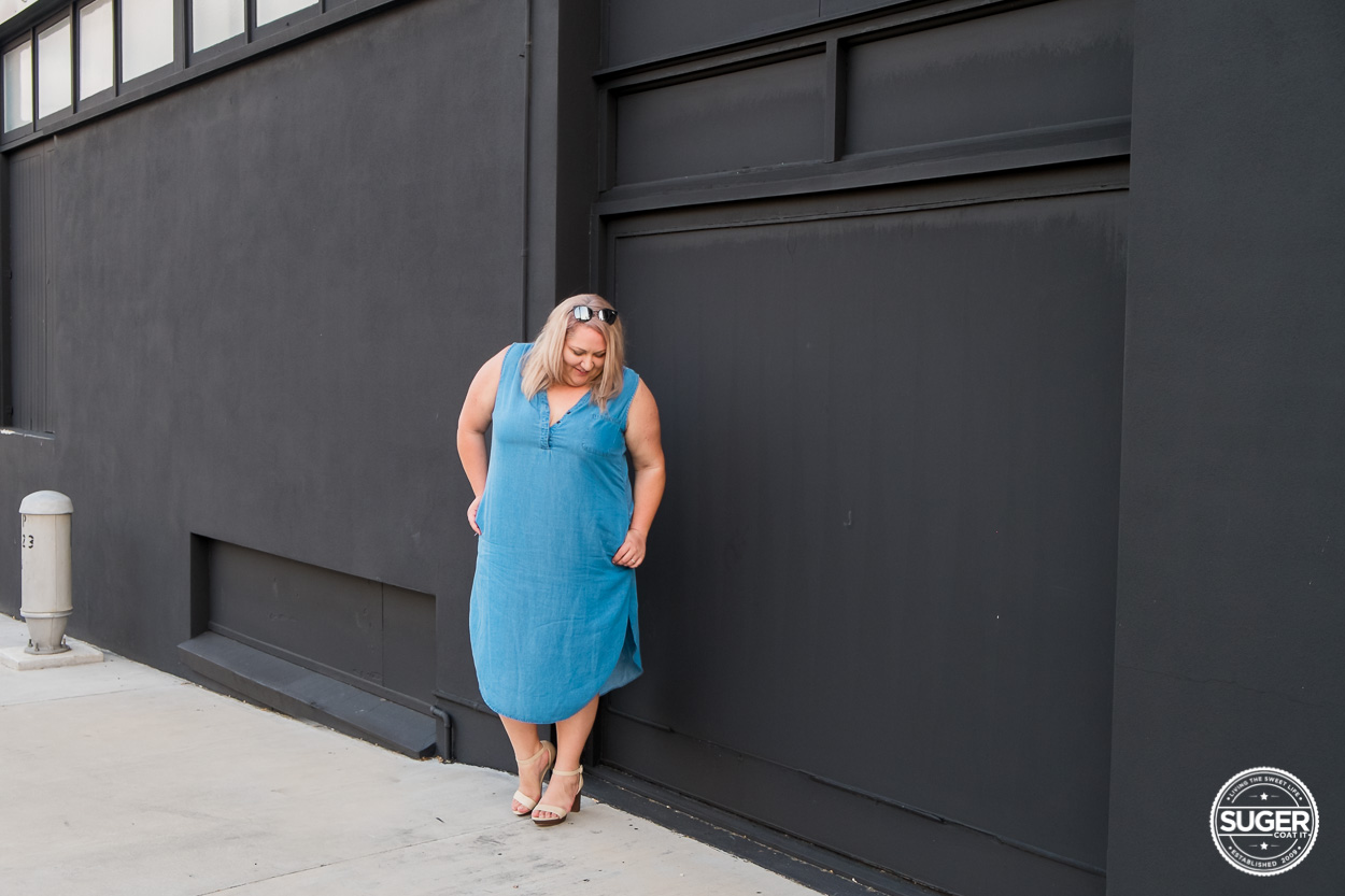 The valentina loves summer chambray dress suger coat it for Cuisine you chambray