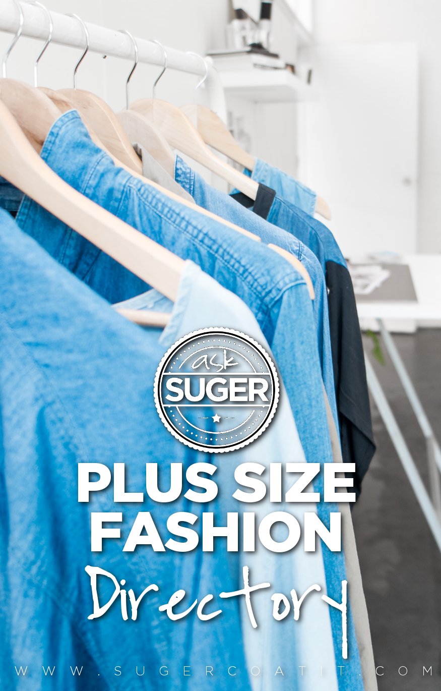A to Z of Plus Size Fashion - Suger Coat It