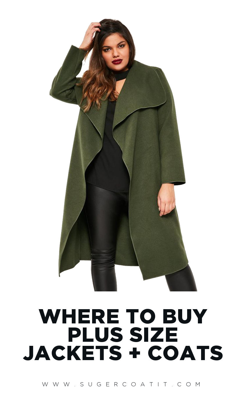 Plus Size Winter Jackets - Suger Coat It