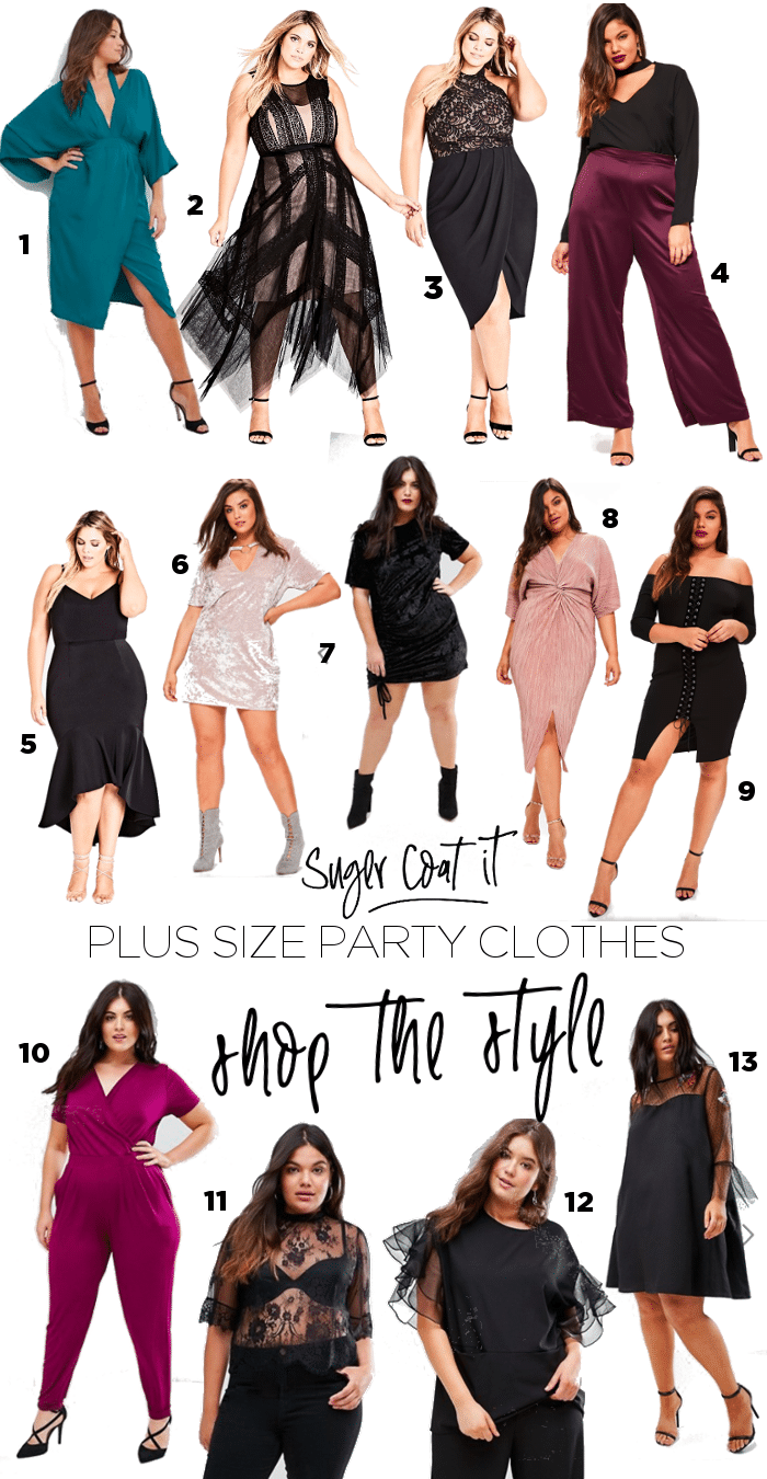 Where to buy plus size party and going out clothes - Suger Coat It