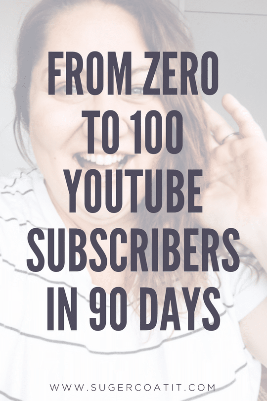 My First 100 YouTube Subscribers - Suger Coat It