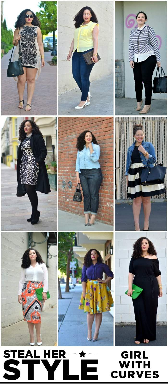 Girl With Curves - Steal Her Style