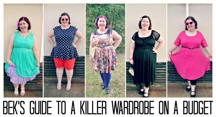 Bek's Guide to Building a Killer Wardrobe on a Budget