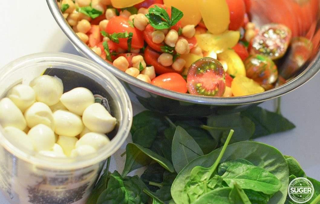 Cherry Tomato Haul Caprese Inspired Salad