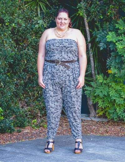 plus size city chic patterened jumpsuit-4