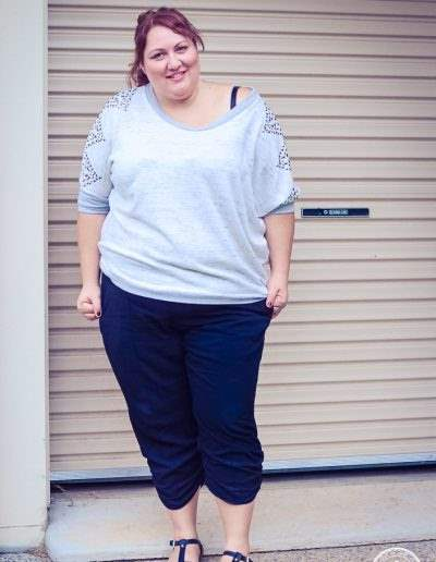 plus size casual outfit for autumn fall or winter-1