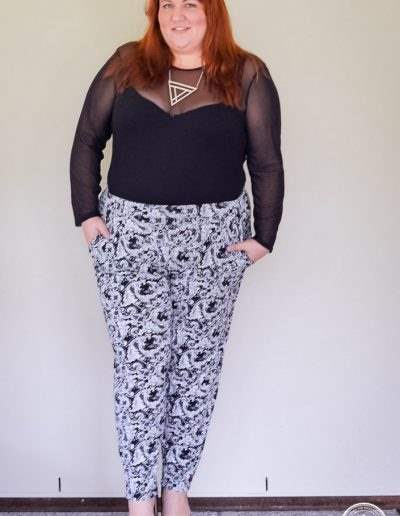 plus size monochrome outfit with bodysuit-7