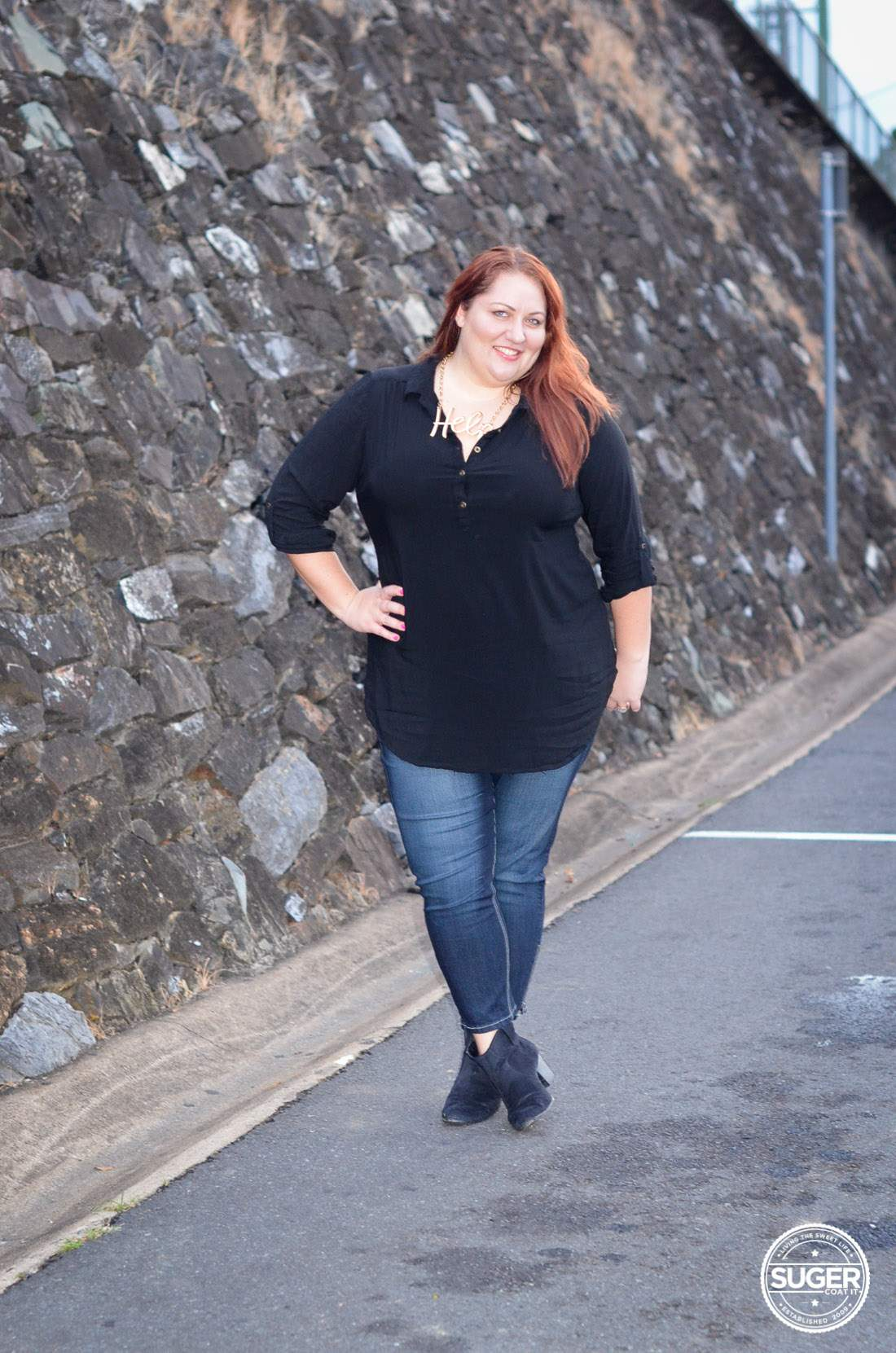 028213af8baf0 How I wear ankle boots as a plus size woman • Suger Coat It