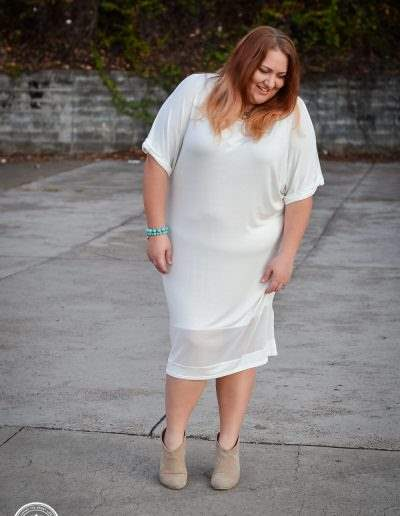 boohoo white dress plus size fashion-4