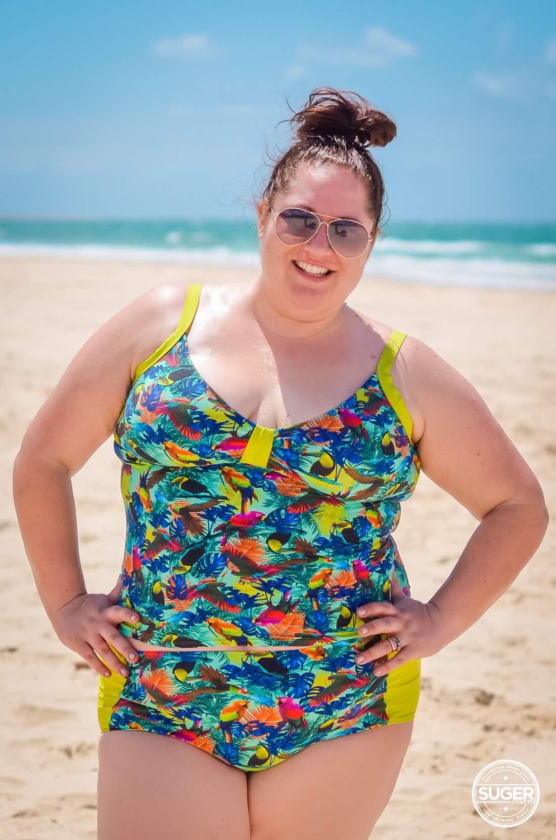 Plus Size Blogger Surania Swimwear Review