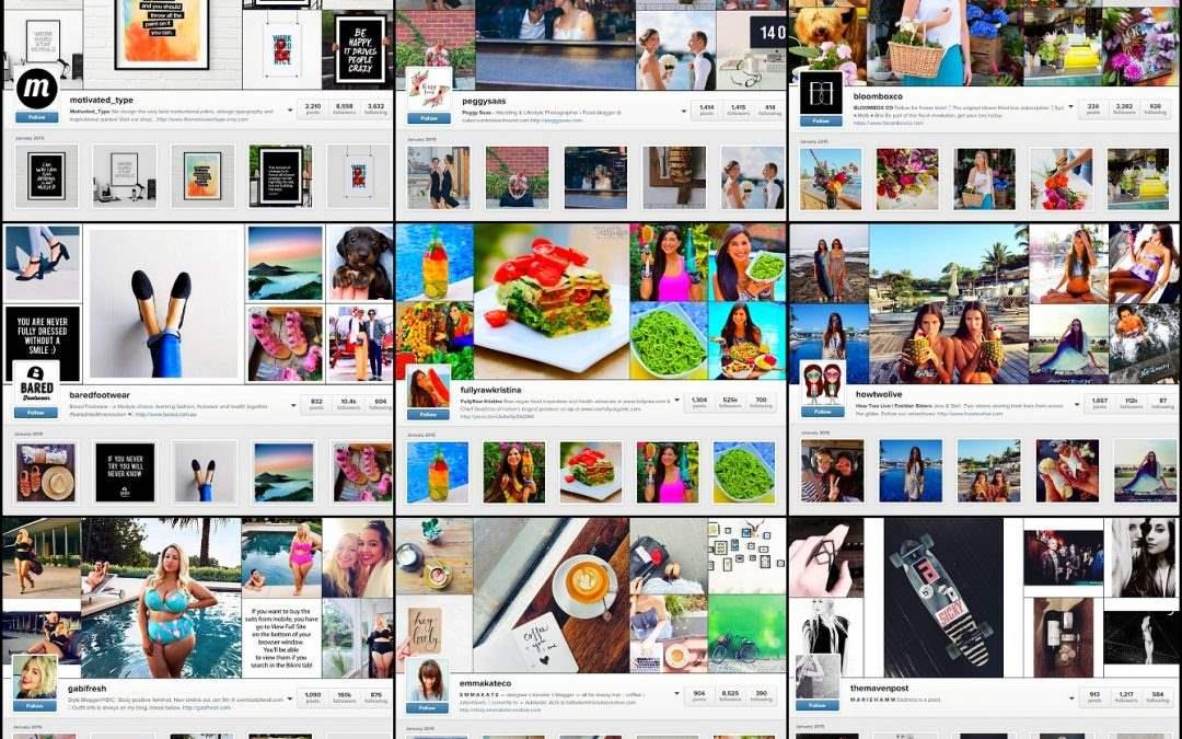 My top Instagram accounts to inspire you