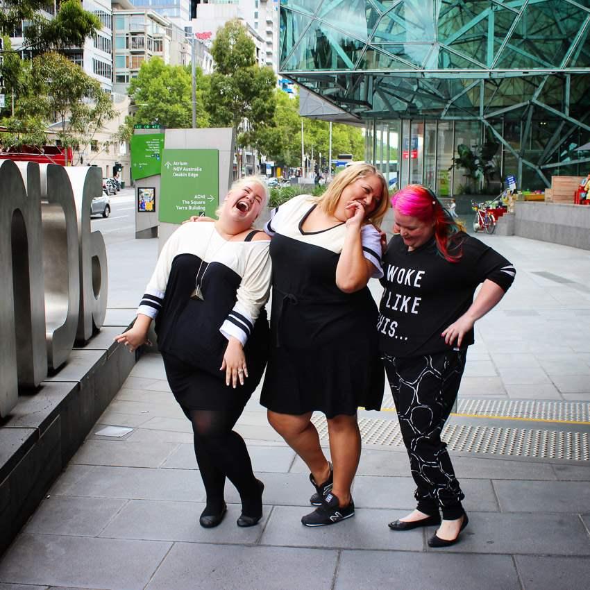 A Girl Gang in Melbourne