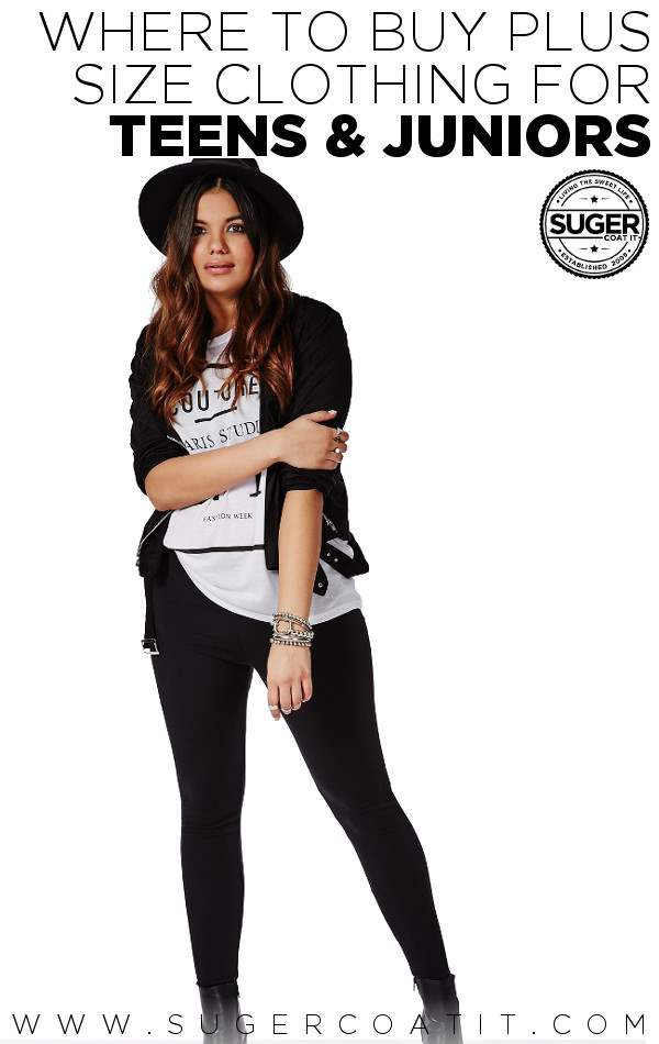 Where to buy plus size clothes for teens • Suger Coat It