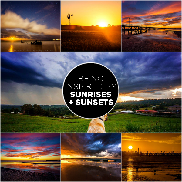 Sunrises + Sunsets: Inspired By