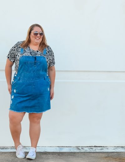 city chic skirt overalls summer plus size outfit-3