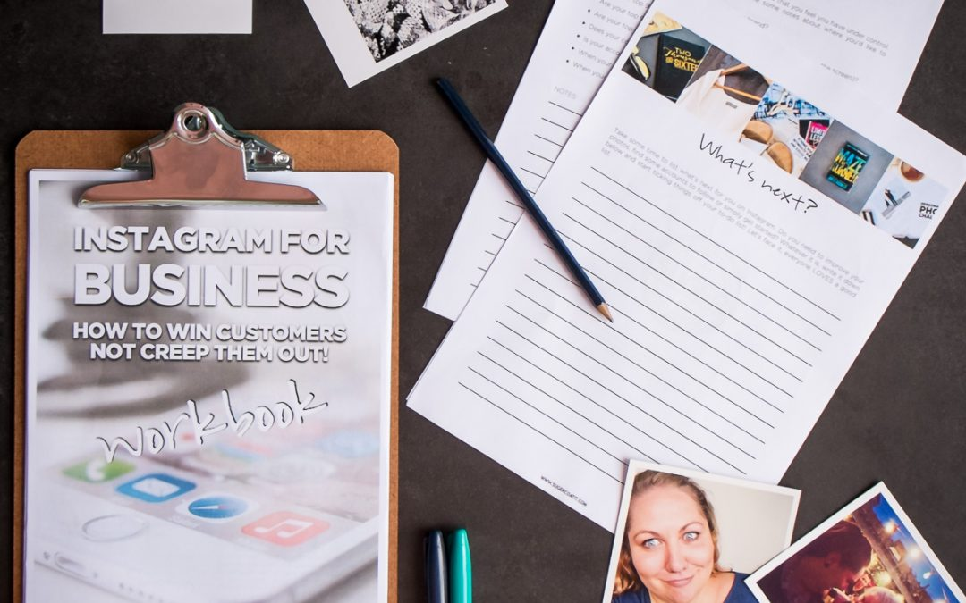 Suger's Instagram for Business Workbook: Out Now!