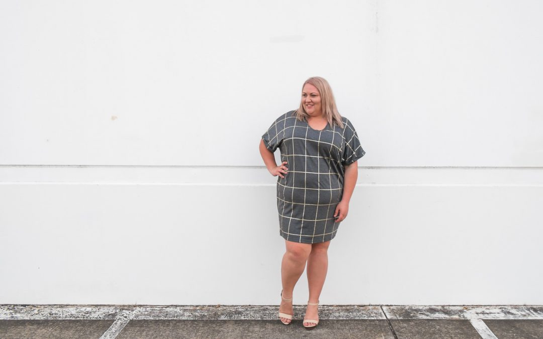 THE Grid Print dress (hello spring!)