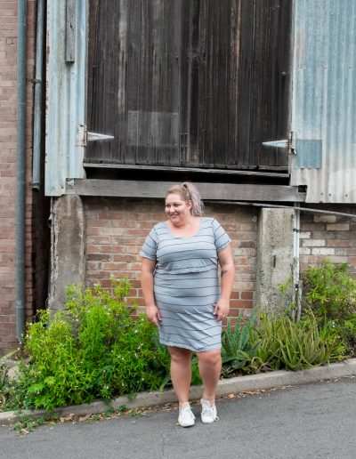 Plus Size Stripe Casual Dress | Suger Coat It