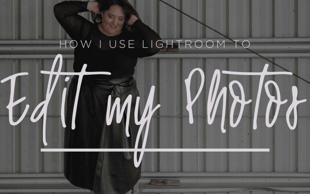 How I edit in Lightroom {video}
