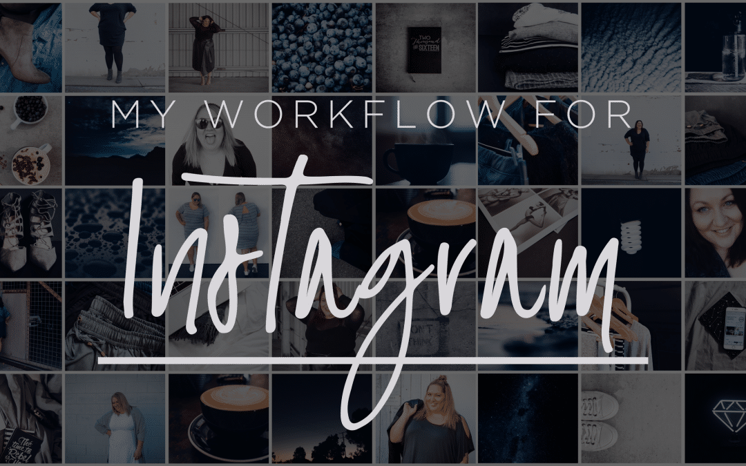 Instagram Workflow and Q&A {video}