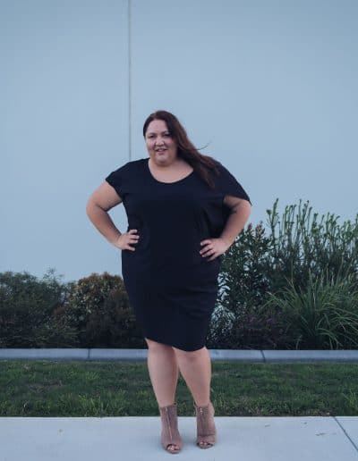 Little Black Dress Outfit - Suger Coat It-5