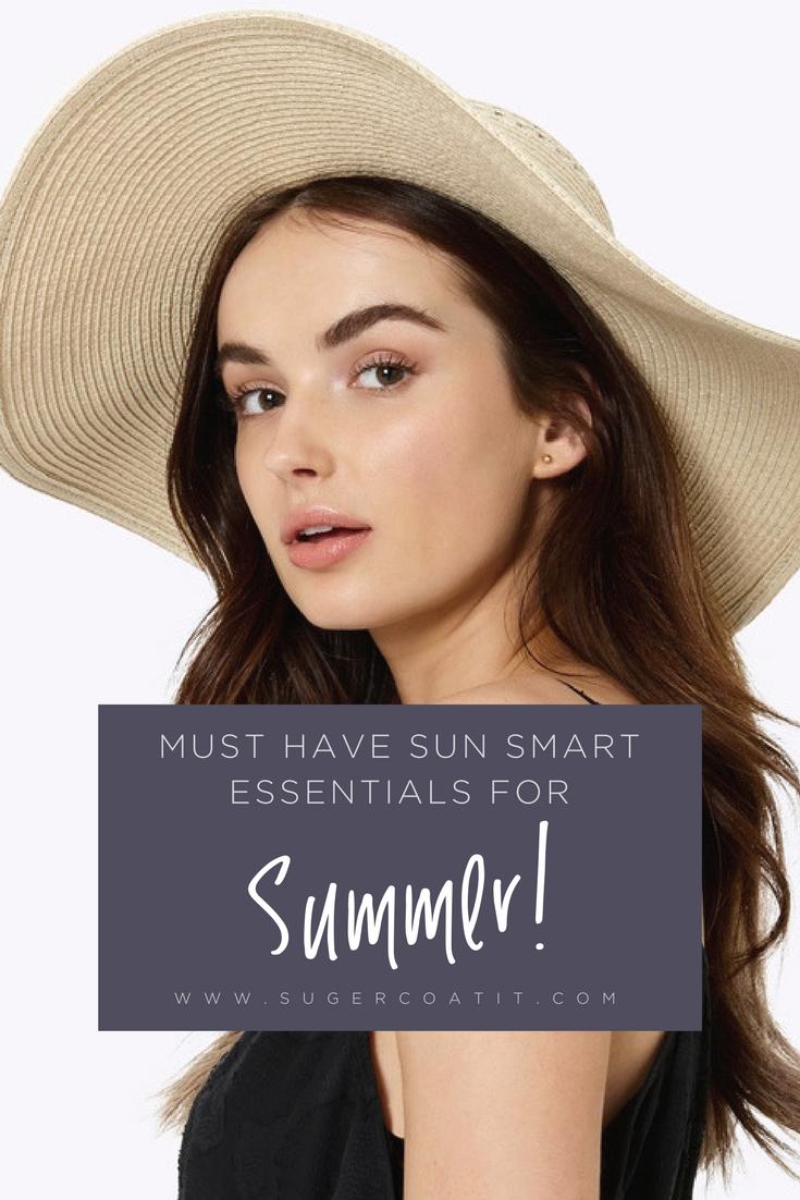 sun smart essentials for summer - suger coat it