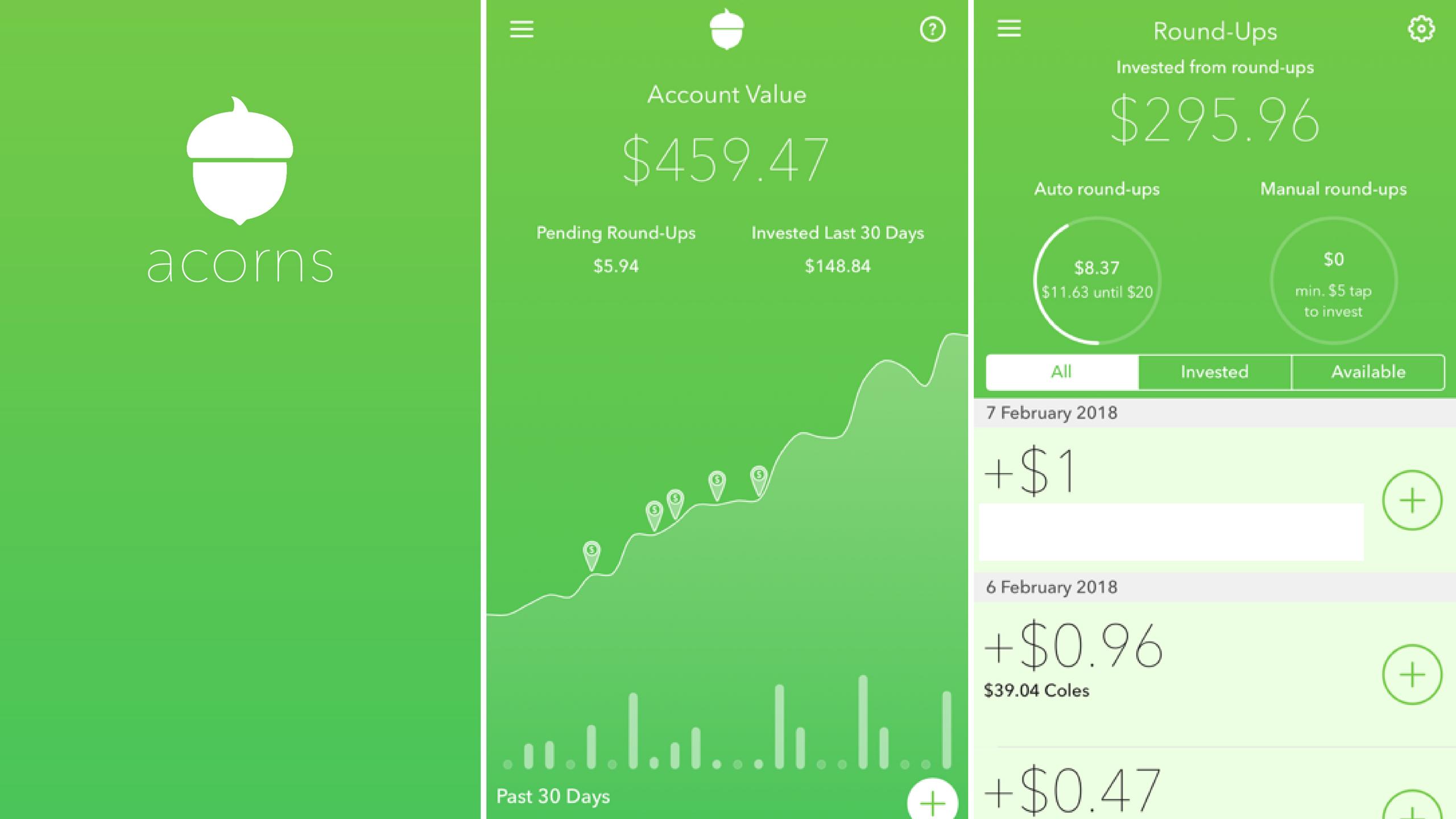 Acorns Investment App Review - Suger Coat It