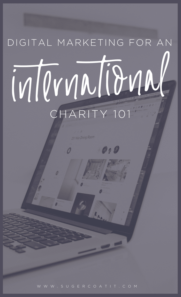 Digital Marketing for an International Charity - Suger Coat It