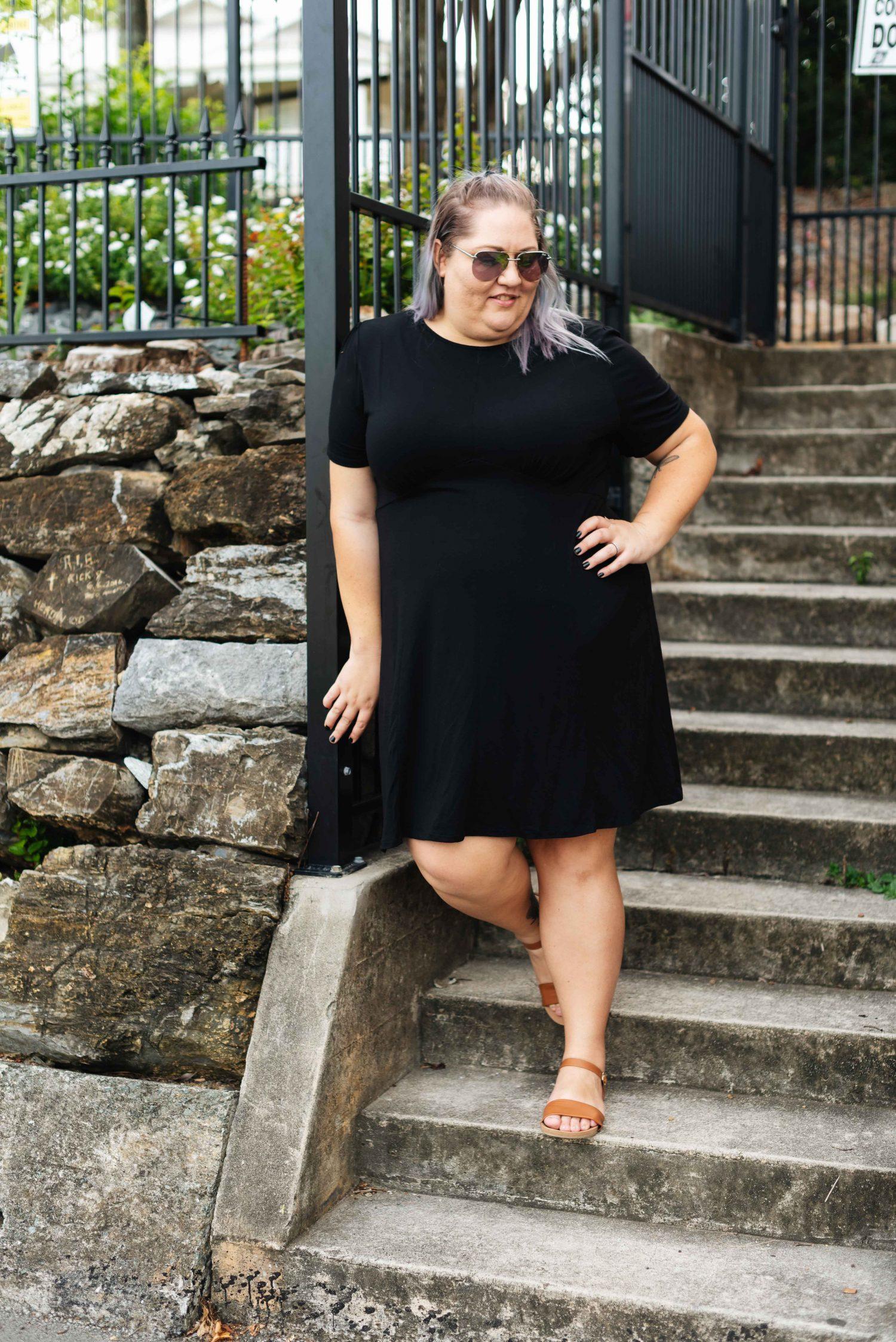 Plus Size ASOS Black Mini Dress - Suger Coat It