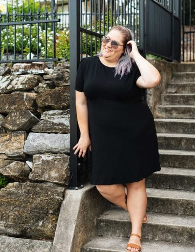 Plus Size ASOS Black Mini Dress - Suger Coat It6