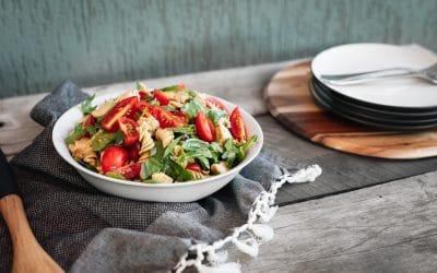 Pesto Chicken Summer Salad
