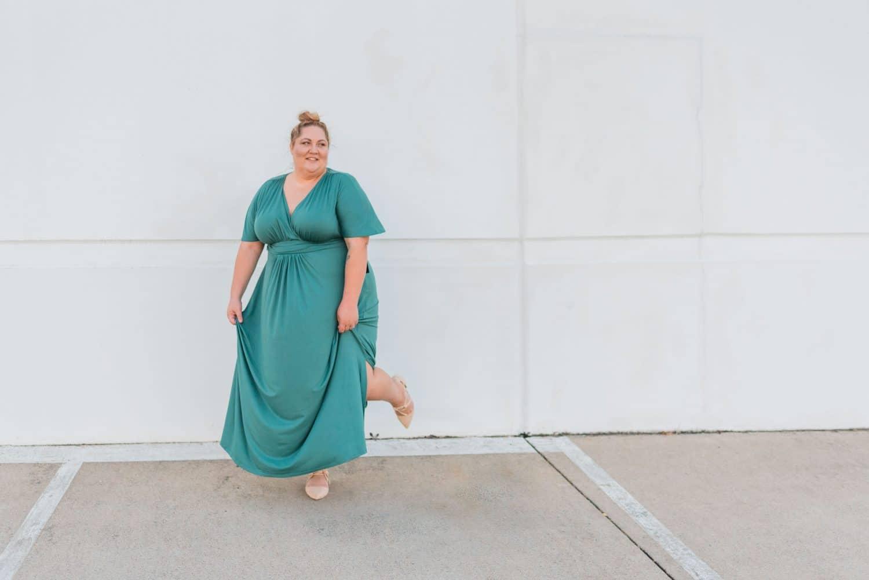 Kiyonna Plus Size Maxi Dress