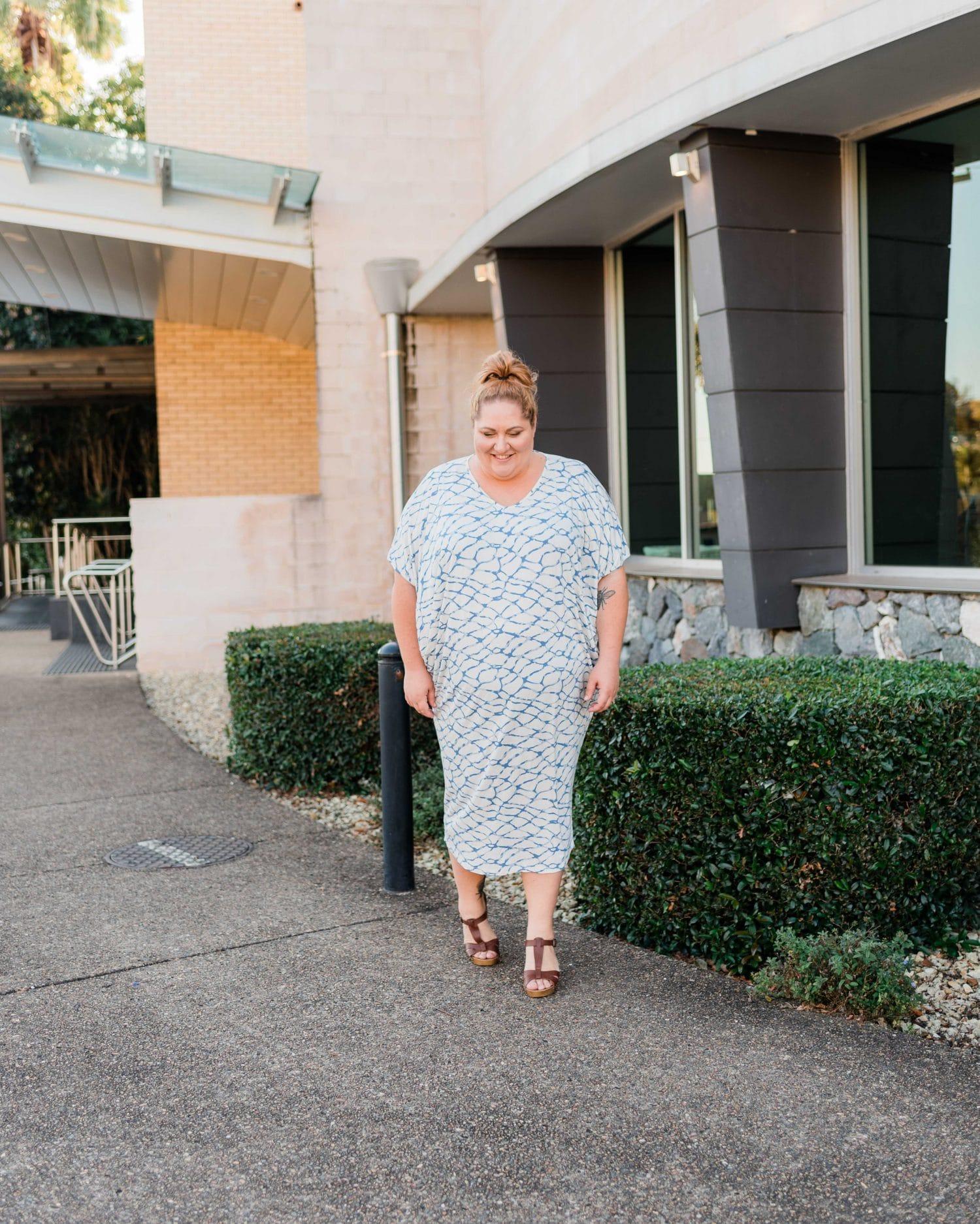 PQ Collection via White Haven Emporium Plus Size Maxi Dress