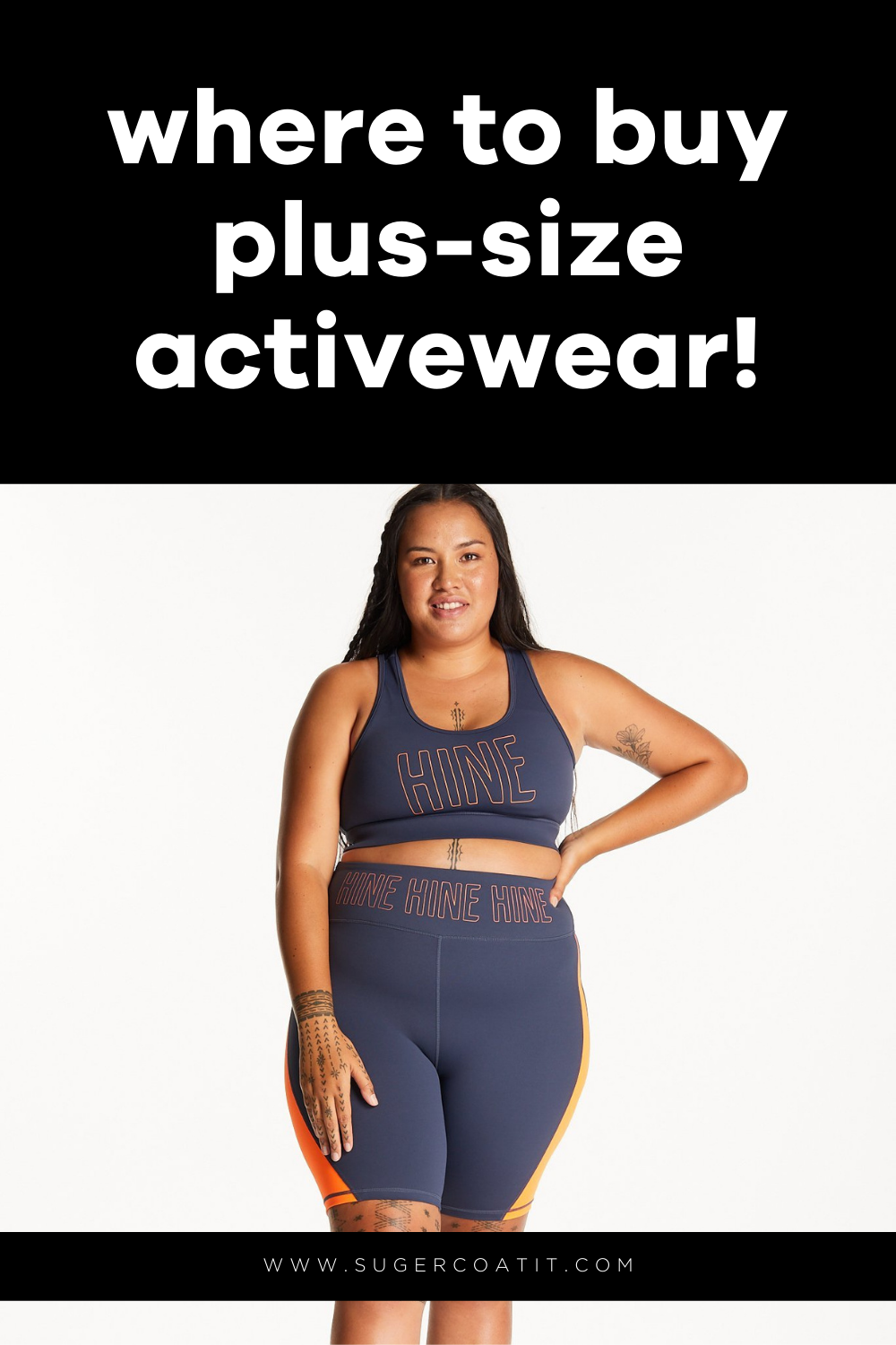 Where to Buy Plus Size Activewear - 2021 Update - Suger Coat It