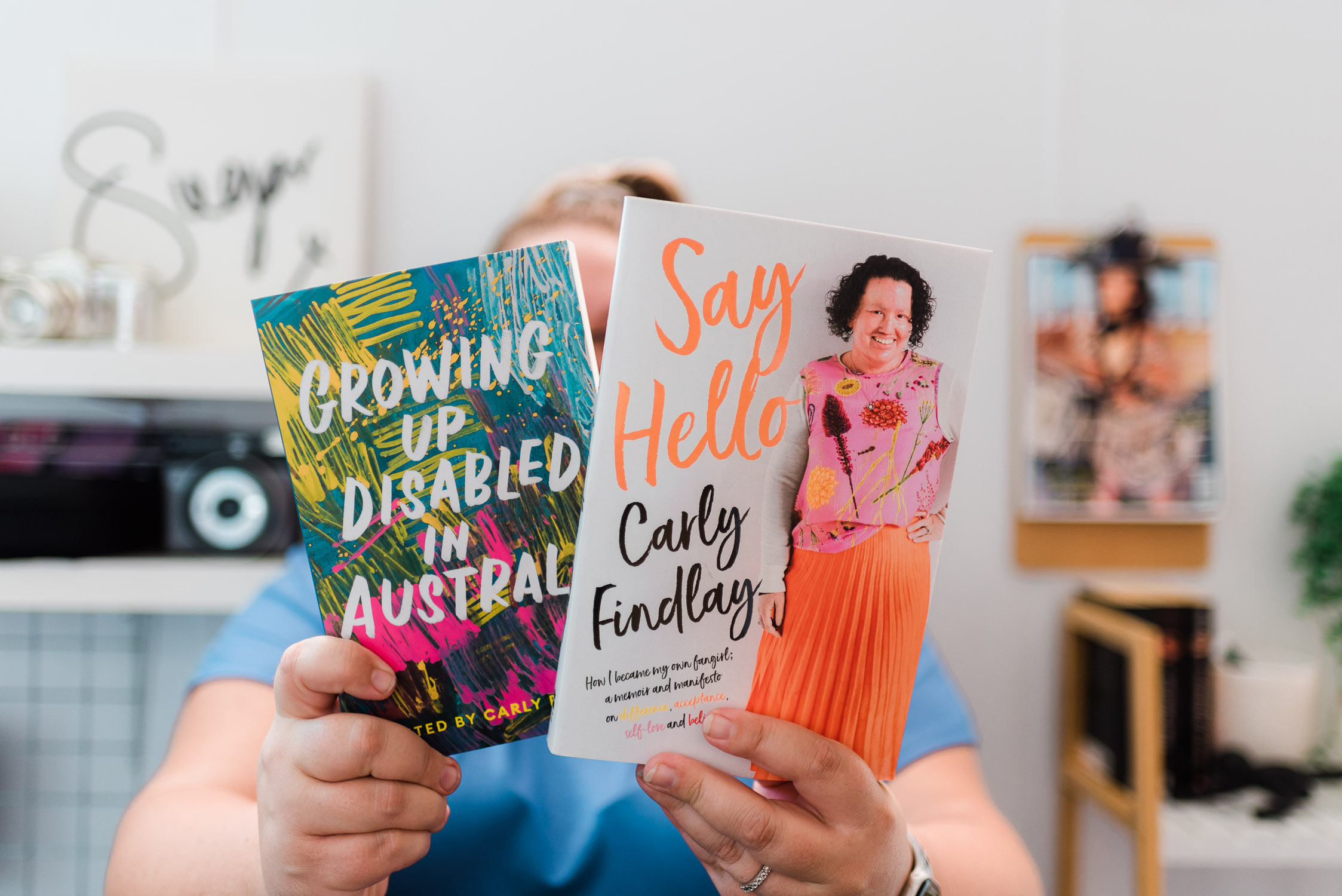 Growing up Disabled in Australia and Say Hello by Carly Findlay - Suger Coat It
