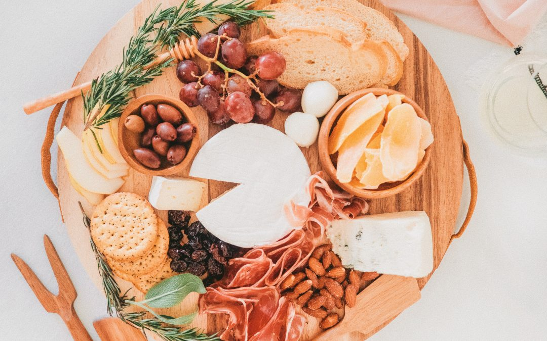 How to put together a cheeseboard quick!