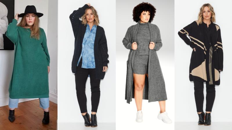 AW2021 Australian Plus Size Fashion - Knits